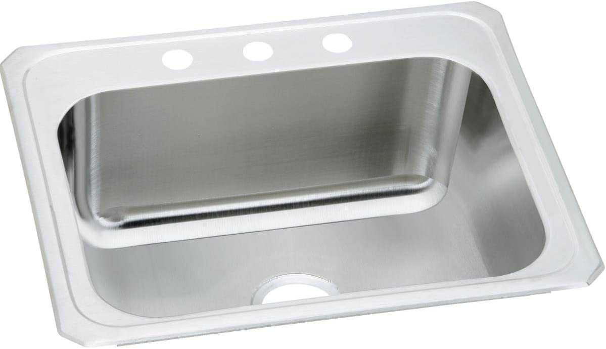 Elkay DCR2522104 Single Bowl Drop-in Stainless Steel Laundry Sink