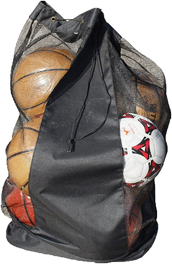 Gaocheng net bag ball bag long and thick rope bag basketball bag ball net bag soccer bag 10-15 bolas Large