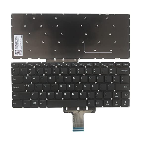 Amazon.com: New Laptop Replacement Keyboard for Lenovo Flex 4-14 ...