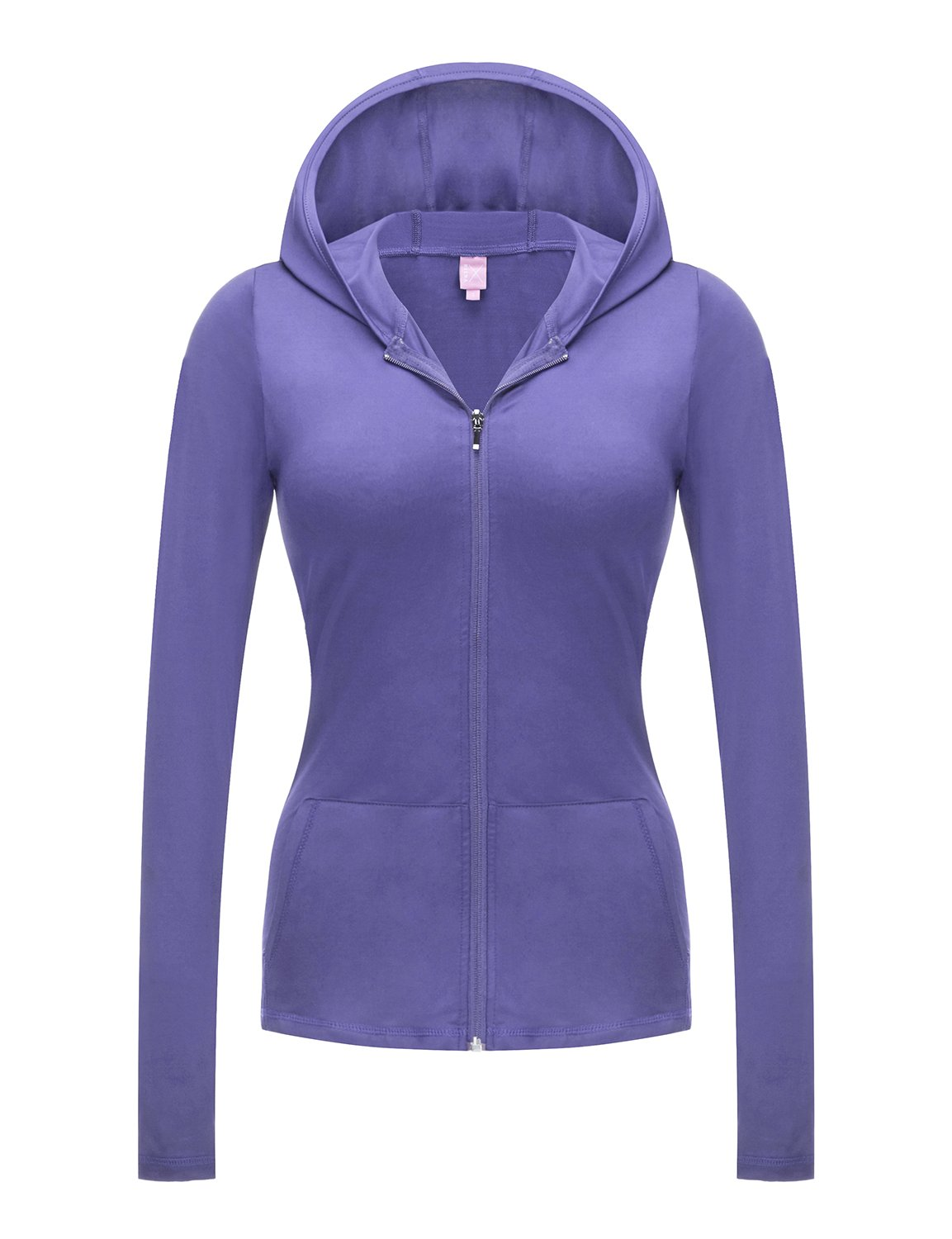 Regna X No Bother Women's Full Zip Front Running Workout Stretchy Track Jacket