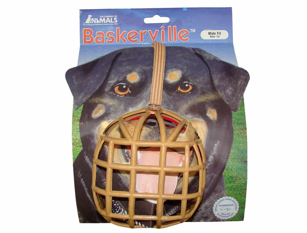 The Company Of Animals Baskerville Deluxe Dog Muzzle Size13