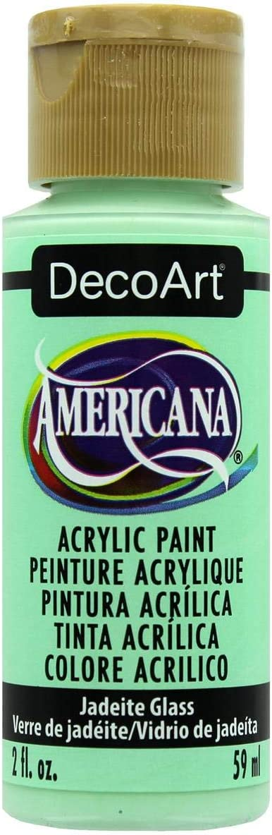 Deco Art Americana Paint 2 OZ, us:one size, Jadeite Glass -Mint Green