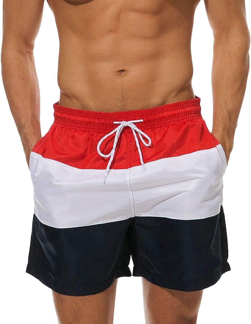 M/&S/&W Men Casual Quick Dry Swim Trunks Bathing Suit Beach Short