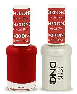 DND Soak Off Gel 0.5 Ounce (430 Ferrari Red)