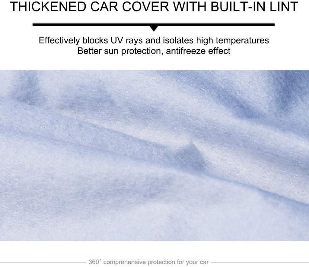 HTTSC Compatible avec Alfa Romeo Stelvio QUADRIFOGLIO Pleine Voiture Couverture imperm/éable Tissu Oxford Dust Cover Pare-Brise ext/érieur Solaire Gratter r/ésistant aux UV M/ét/éo Voiture B/âche Sedan Car
