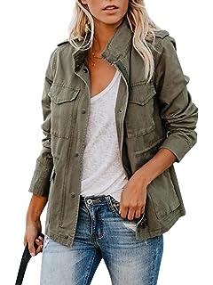 Amazon.com: Ambiance Womens Cargo Style Hoodie Jacket: Clothing