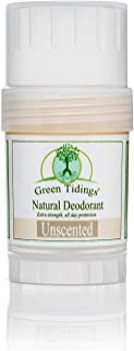 product image for Green Tidings All Natural DeodorantExtra Strength, All Day Protection1oz Unscented - Vegan - Cruelty-Free - Aluminum Free - Paraben Free - Non-Toxic - Organic - Gluten-free - Made in USA