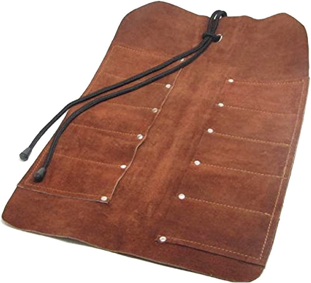 Uj Ramelson Leather Tool Roll Holder For Chisels