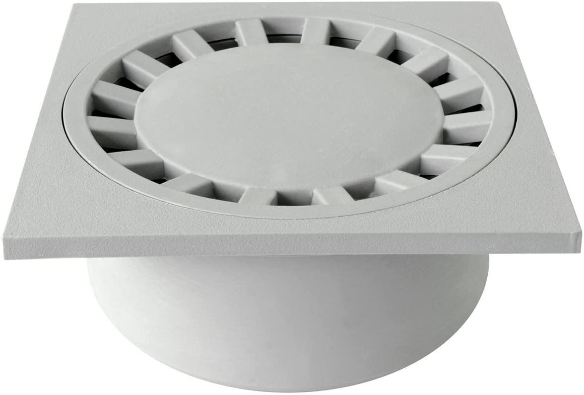 First plast chpp20g-y chiusino sifonato (polipropileno, gris, 200x 200mm
