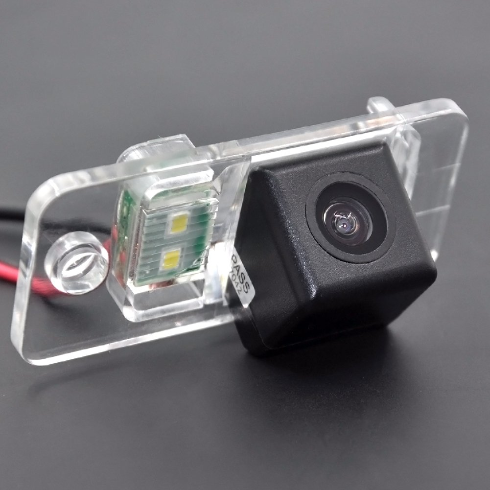Auto Wayfeng WF® CCD HD 4 LEDS Parcheggio posteriore auto Telecamera per Audi A8 A6 A4 A3 Q7 S5 S6 S8 RS4 RS6 A4L / Q5 / A5 / TT / TTS