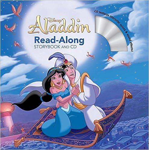 Téléchargez des livres audio en français gratuitement Aladdin Read-Along Storybook and CD by Disney Book Group (2015-08-25) PDF RTF