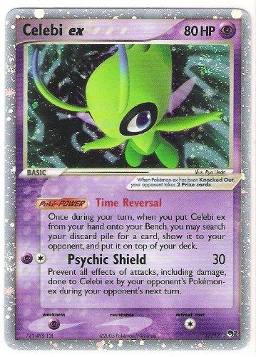 (Pokemon - Promo POP Series 2 - Holofoil - Celebi ex - 17/17)