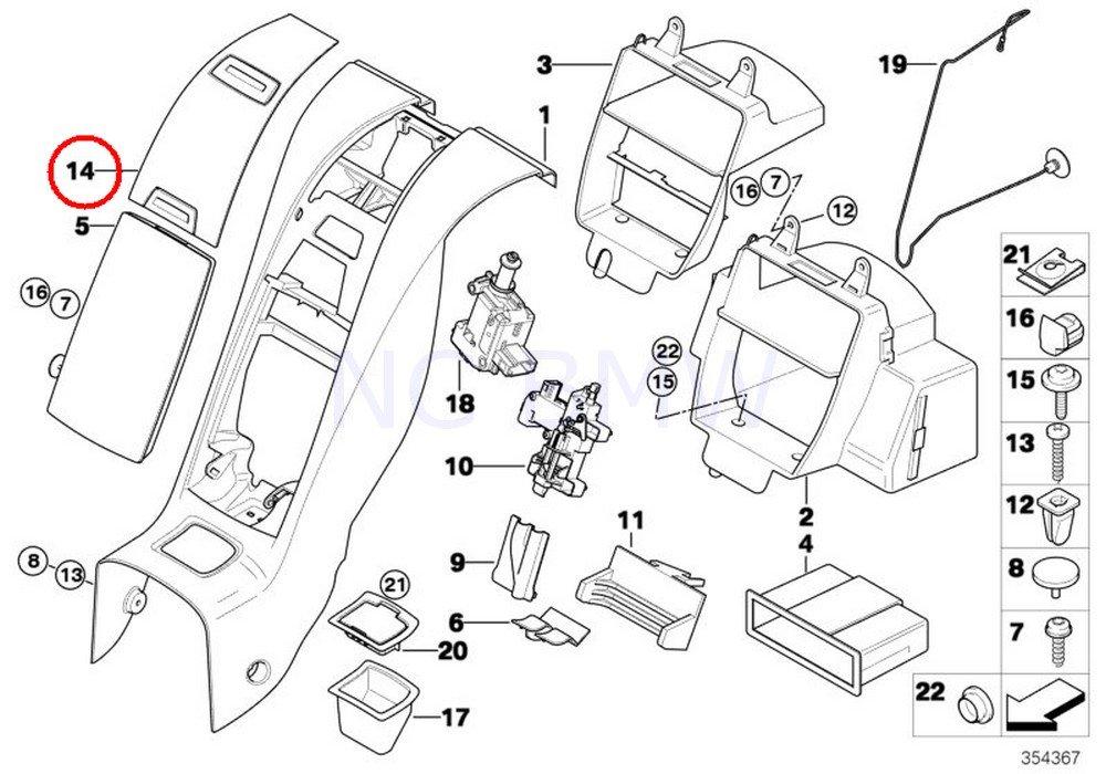 amazon bmw genuine cover automotive BMW E39 530I Engine Module Wiring Diagram