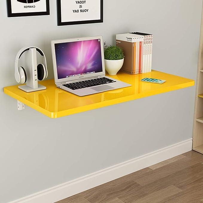Pequeño apartamento Piano Paint Mesa de ordenador plegable ...