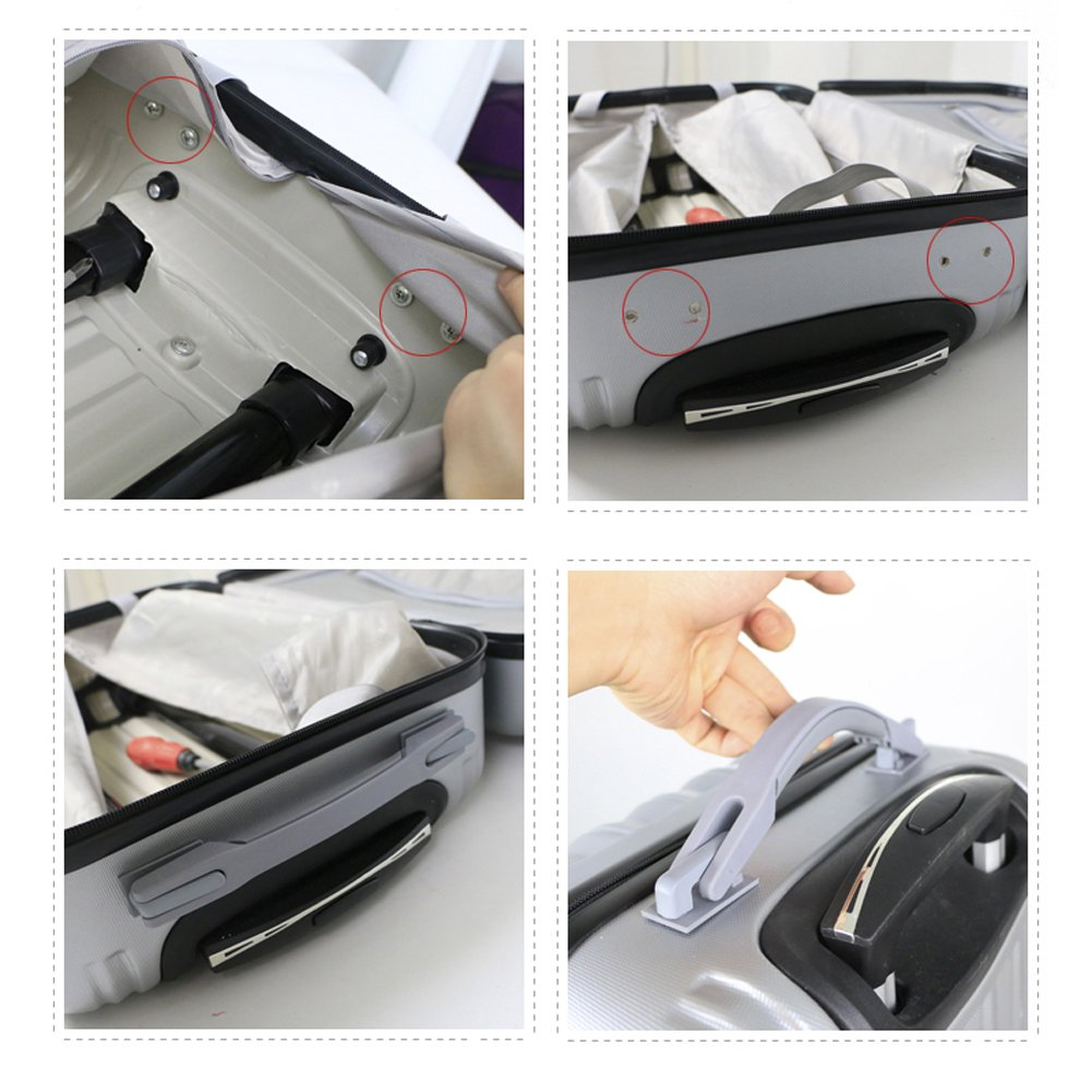 Super Ma Replacement Suitcase Luggage Handle Grip Spare Fix Holders Box Pull Carry Strap (015) by Super Ma (Image #10)