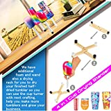 Cup Turner Tumbler Cuptisserie Kit Cup Spinner for