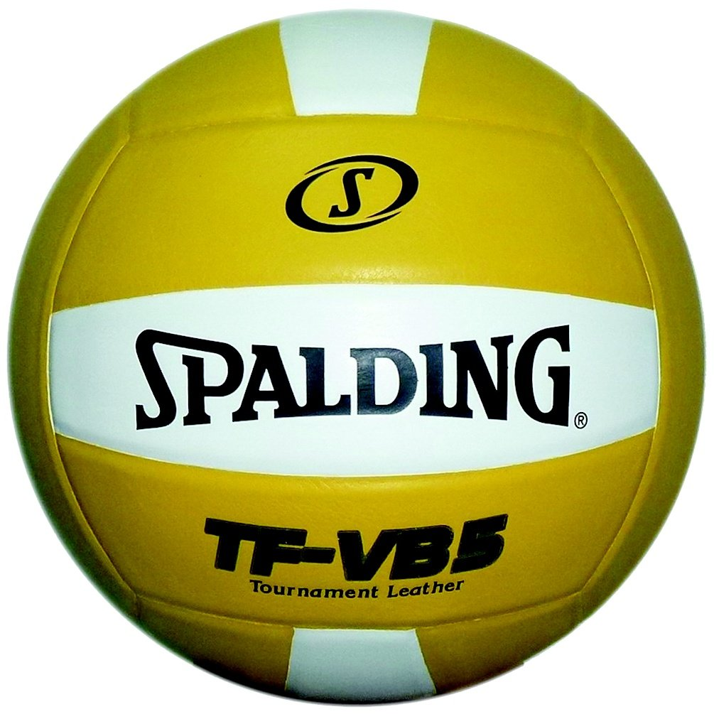 Spalding TF-VB5 NFHS Competition Volleyball (ゴールド/白い)