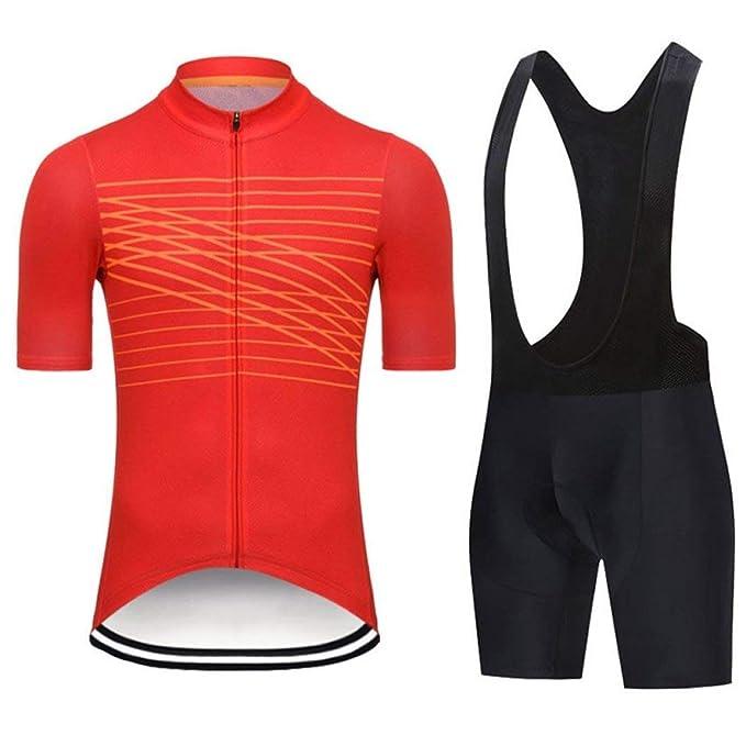 Amazon.com: Juego de ropa de ciclismo para bicicleta de ...