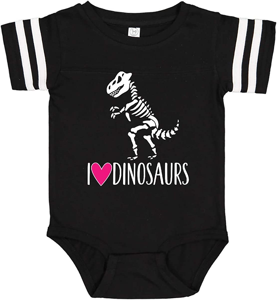 inktastic Dinosaur Tyrannosaur Skeleton Girls Infant Creeper