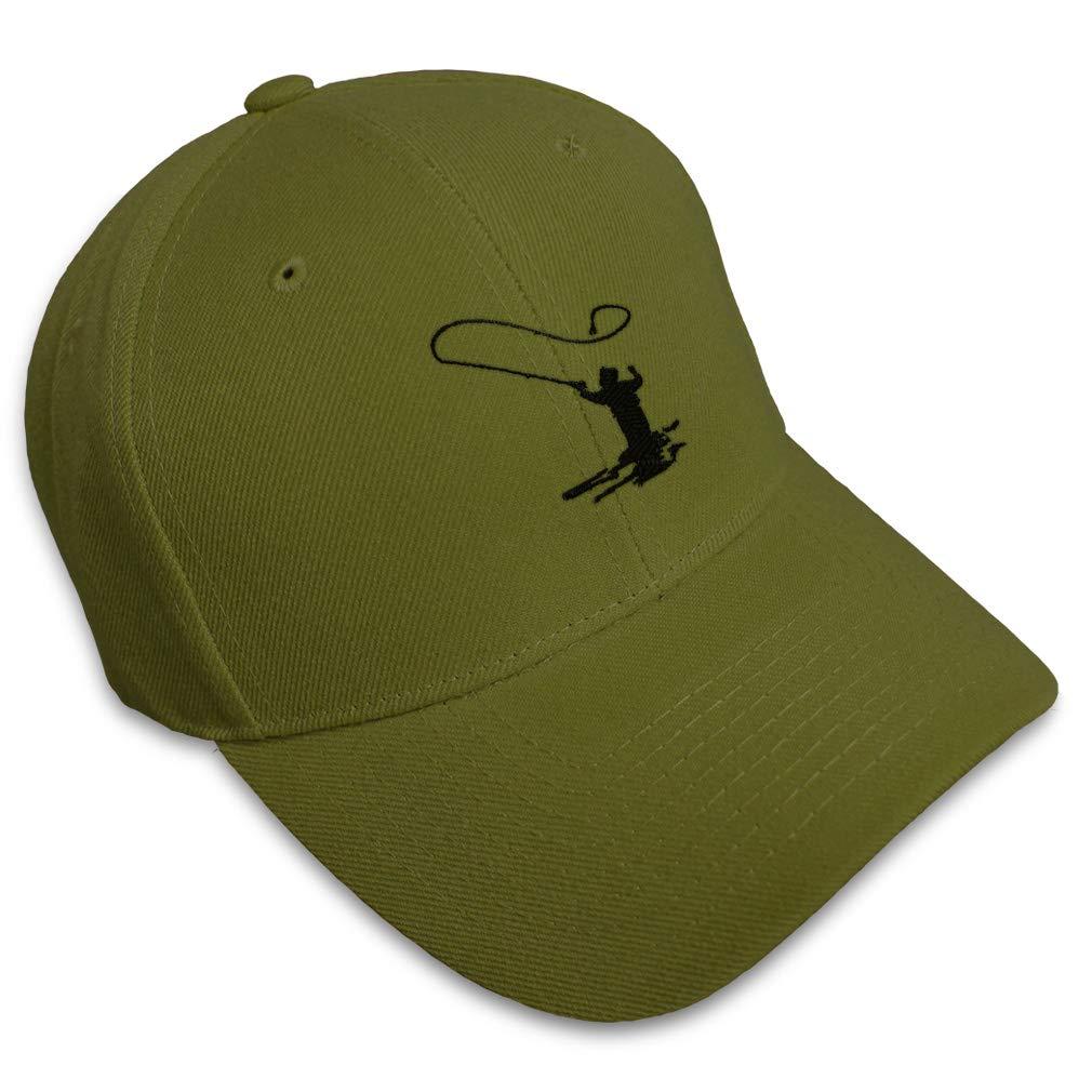 Custom Baseball Cap Man Fishing A Embroidery Acrylic Dad Hats for Men /& Women