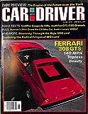 1978 78 June CAR and DRIVER Magazine (Features: Road Test on Ferrari 308 GTS, Cadillac Coupe De Ville, Limousine Literal, Audi For GTI, & Ford ESS Granada, + Pontiac Grand Am CA, Saab 99 GLE, & Datsun F-10)
