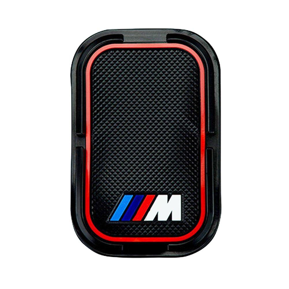 S-WEKA 2PCS M Line Car Interior Accessories Anti Slip Cup Mat for BMW 1 3 5 7 Series F30 F35 320li 316i X1 X3 X4 X5 X6 2.9 Dia.(X3 //X4 //5//7 Series) 3.2 81mm