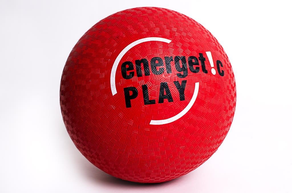 Playground Kickball - Traditional 10 Inch Red Rubber Ball