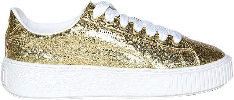 Hasta caja de cartón Rezumar  Puma- Tenis Dorados Tenis para Mujer Oro Talla 24: Amazon.com.mx: Ropa,  Zapatos y Accesorios
