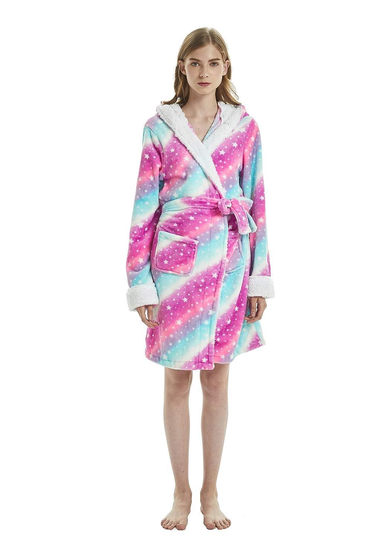 Unisex Adult Animal Hooded Bathrobe Cosplay Sleepwear