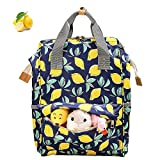 Diaper Bag Backpack, Cinsey Multi-Function Waterproof Travel Baby Bags with Insulated Pockets, Large Capacity, Stylish and Durable for Fashion Mom and Dad