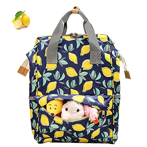 Diaper Bag Backpack, Cinsey Multi-Function Waterproof Travel Baby Bags with Insulated Pockets, Large Capacity, Stylish and Durable for Fashion Mom...