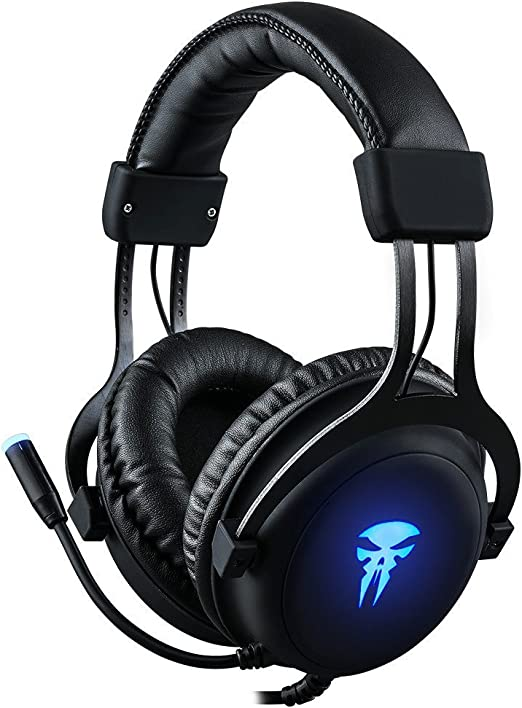Gaming Headset with Mic,Noise Cancellation Surround Sound