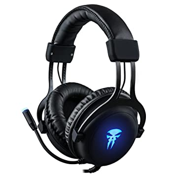 Auriculares Gaming para PC, Xbox One, PS4-3.5mm Cancelación De ...