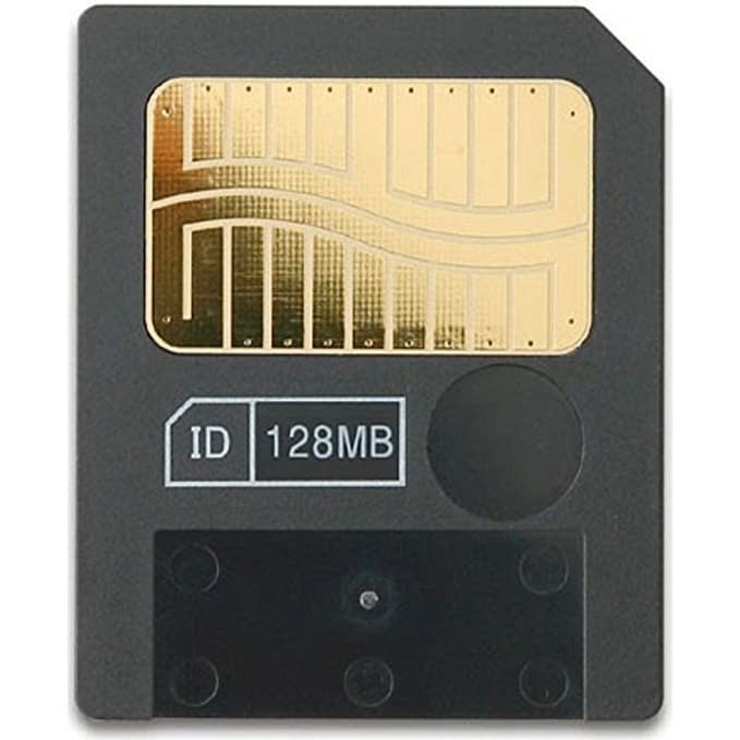 Amazon.com: Tarjeta de memoria 128 MB Meg Smart Media SM ...