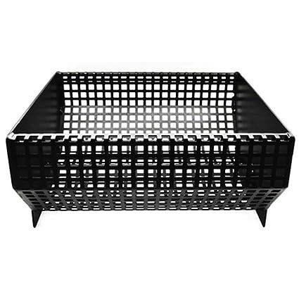 Diankamin Plus - Cesta para quemar pellets para chimeneas y estufas con marco de 6 kg