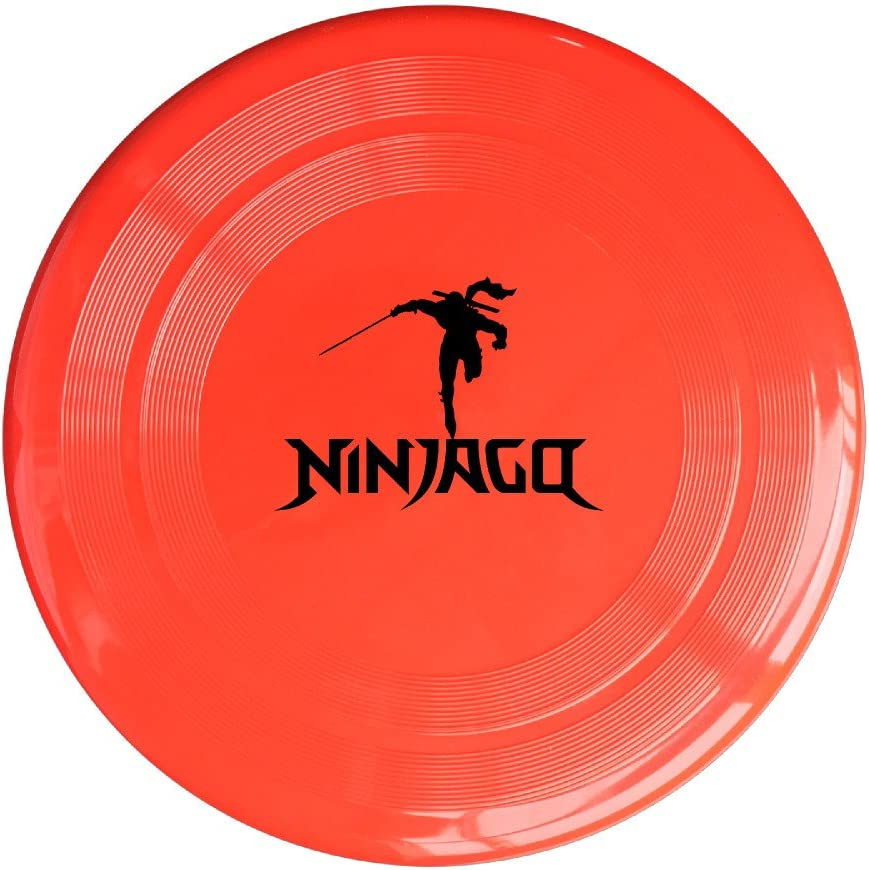 EVALY Ninja Cool Logo Poster 150 Gram Ultimate Sport Disc Frisbee Yellow