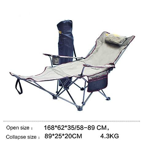 Amazon.com: Silla de camping plegable portátil al aire ...