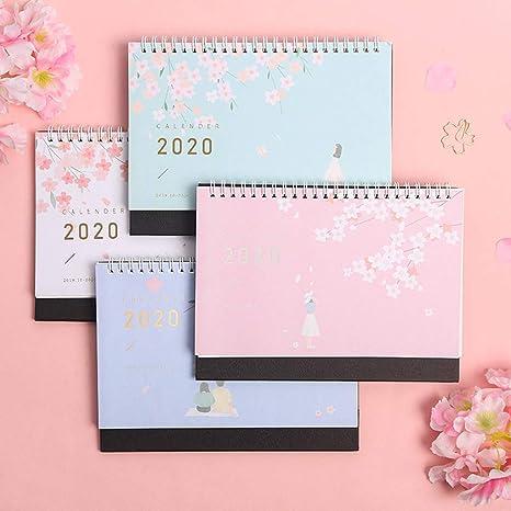 Chic - Calendario de escritorio 2020, calendario escolar ...