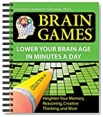 Brain Games® #4: Lower Your Brain Age in Minutes a Day (Brain Games (Numbered))