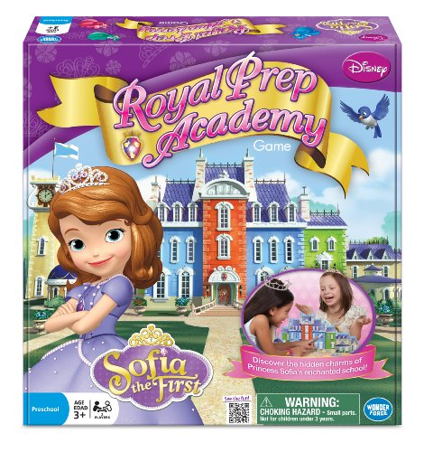 Princess Sofia Royal Prep Academy Board Game