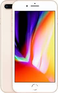ابل ايفون 8 بلس مع فيس تايم - 64 جيجابايت، شبكة الجيل الرابع ال تي اي، باللون الذهبي - (ناقل مفتوح- مُفعل)