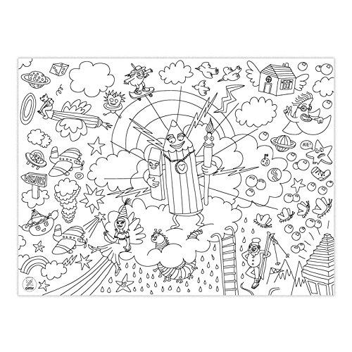 Fantastic 2 OMY Set de table /à colorier