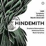 Classical Music : Hindemith: Symphonic Metamorphosis; Nobilissima Visione Suite & Konzertmusik
