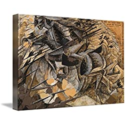 Wall Art Print entitled Charge Lancers - Cavalry Charge by The Fine Art Masters | 48 x 32