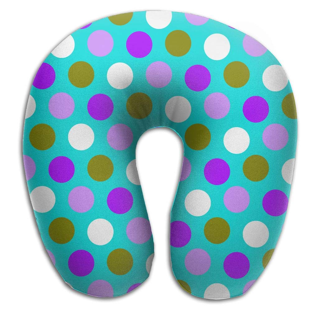 Lhsf72sfp Teal Blue and Purple Window Comfortable Travel Pillow,Get Wrapped in Extreme Comfort with The Comfort Master Neck Pillow,a Memory Foam Pillow That Support for Travel,Home,Neck Pain