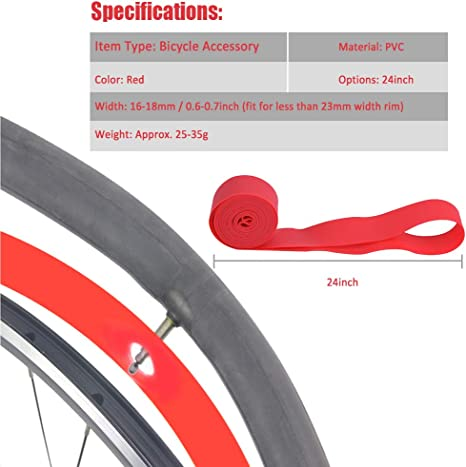 Details about  /2pcs Bicycle Bike Tire Liner Anti-Puncture Proof Belt Tyre Tape Protector Charm