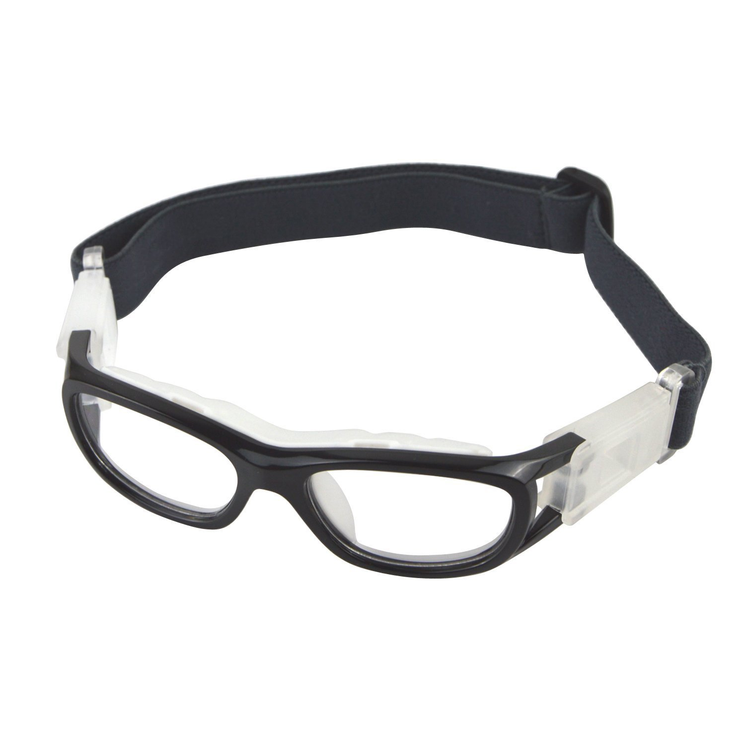 1487b887fdd4 Elemart(TM Unisex Kids Sport Glasses Anti-Fog Protective Safety Goggles Adjustable  Strap for Basketball Football Hockey Rugby Baseball Soccer Volleyball and  ...
