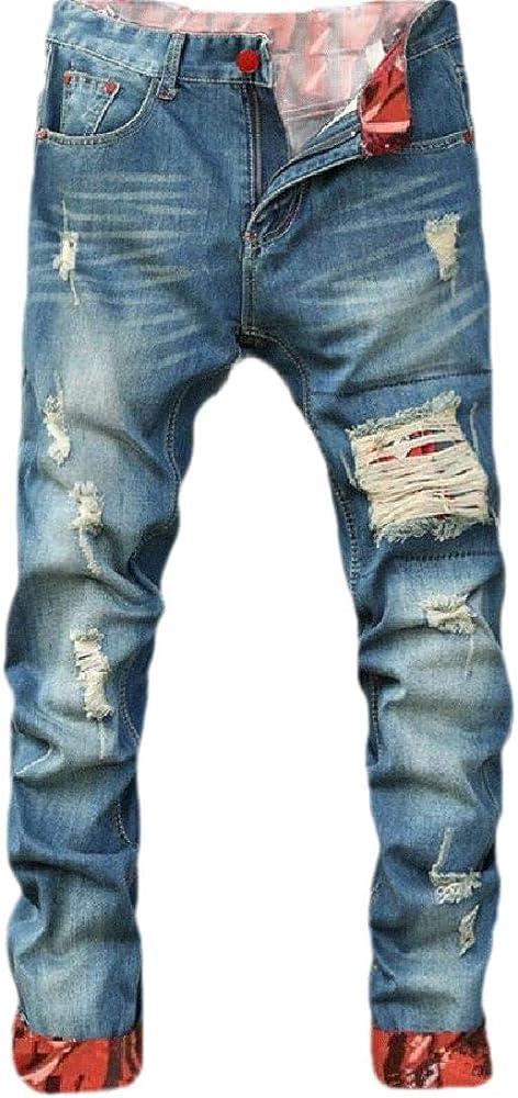 Pantalones Vaqueros de Seguridad para Hombre Azul Azul 26 ...