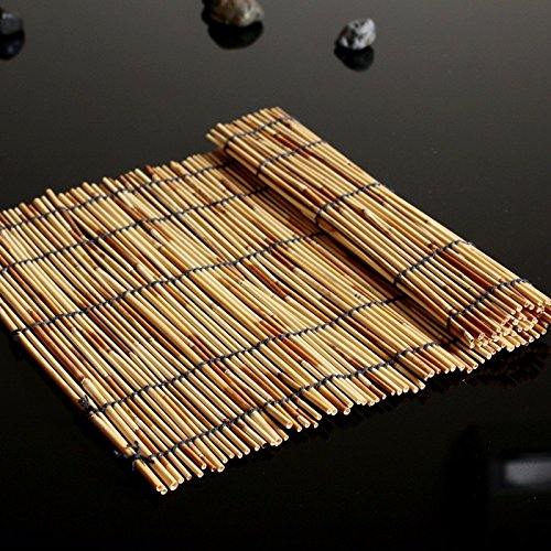 The Western restaurant is served tea pads pure natural hand woven bamboo rope in the room mat tea agent bamboo curtain bamboo sushi roller shutter 4530cm,a silk -