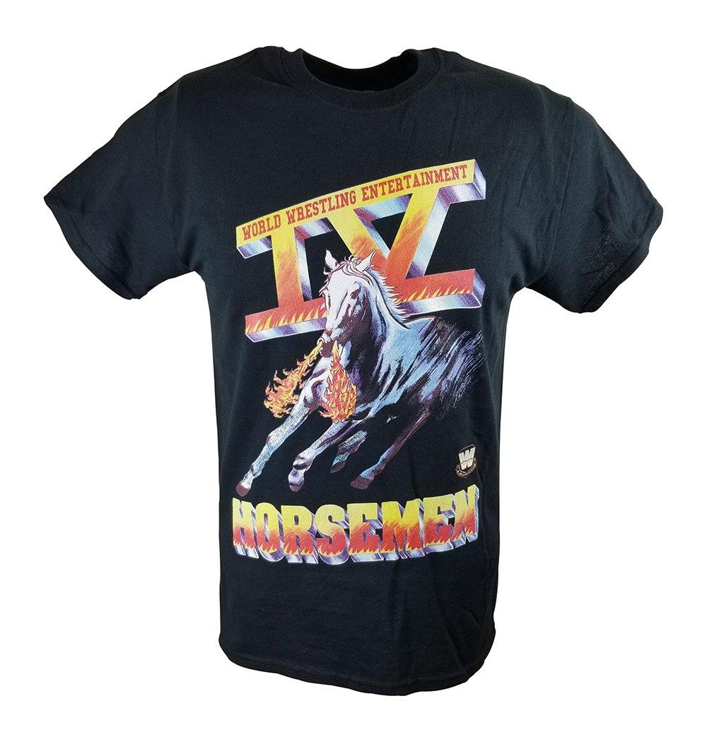 Freeze Four IV Horsemen Ric Flair WWE Mens Black T-SHIRT-3XL